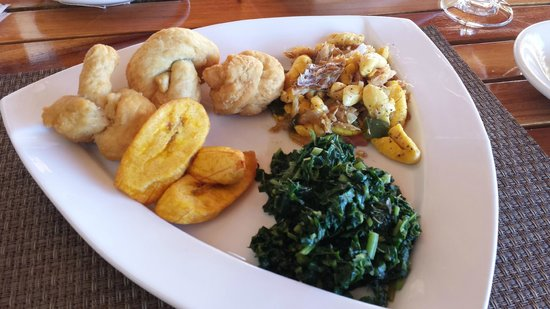 The SPA Retreat Boutique Hotel : Jamaican Breakfast