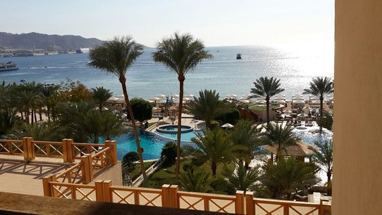 InterContinental Aqaba Resort: the view from our room