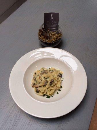 The Fancy Goat: Mushroom Tagliatelle. Very tasty