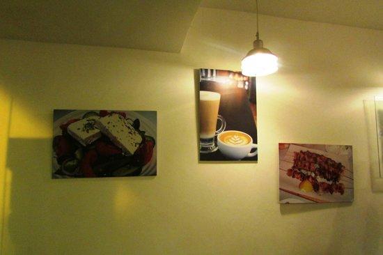 Grecia, Cafe y Suvlaki: Detalle