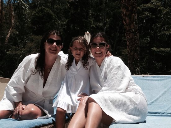 Granja Brasil Resort: Lourdes F C Amaral no Spa do hotel Clarion em Itaipava