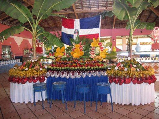 Caribe Club Princess Beach Resort & Spa: area buffet