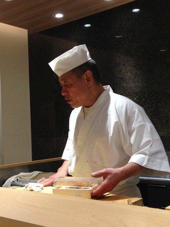 Sushi Bar Yasuda: Yasuda-san!