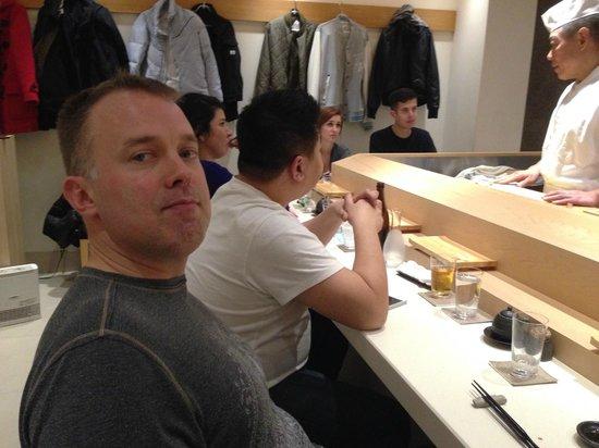 Sushi Bar Yasuda: the small bar