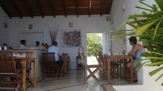 Villa Caracol: comedor
