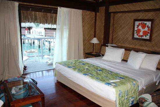 Maitai Polynesia Bora Bora: Nosso quarto, lindo!