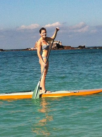 The St. Regis Punta Mita Resort : Try the stand up paddleboarding activity- A Must!