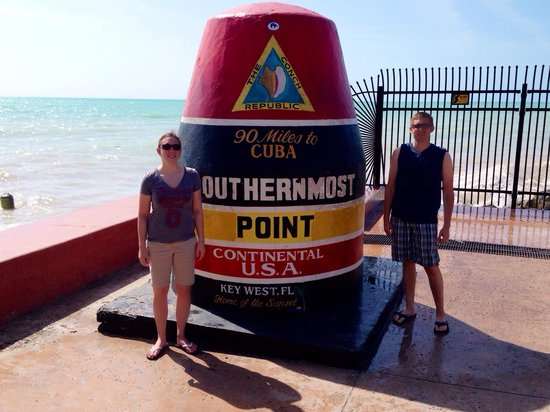 Southernmost Point: Southernmost spot.