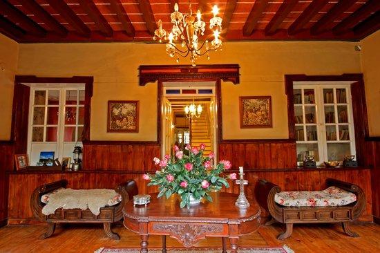 Hacienda La Alegria: our entrance