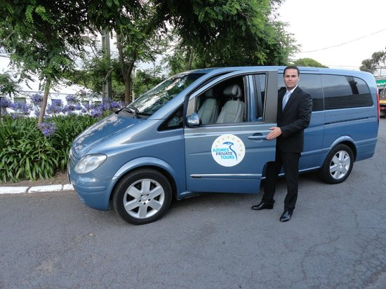 Azores Private Tours: Private Tours Van