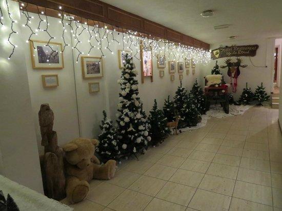 Hotel Opdeboud : The hallway