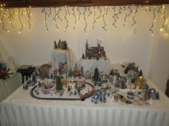 Hotel Opdeboud: Miniature Christmas village