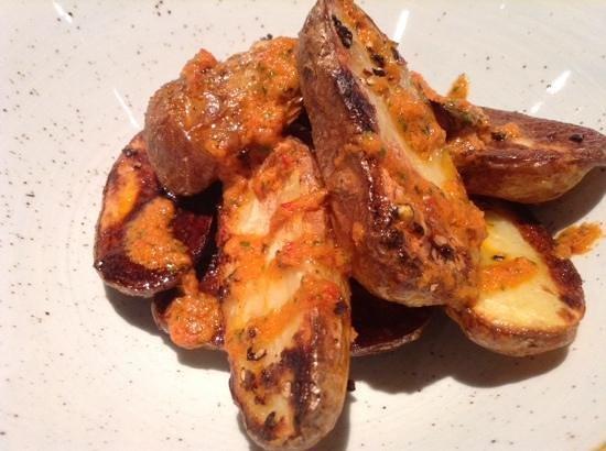 Caliente: patatas bravas spanish style, tapas dish