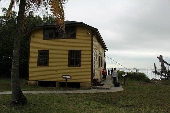 Barnacle State Historic Site: casa que sobreviveu ao furacão