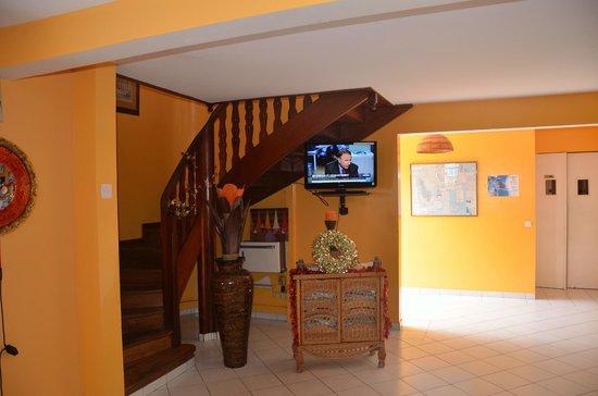 Hotel Le Petit Havre: L'accès aux chambres de l'étage