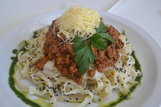 Restaurante Don Salvador: Fetuccinis