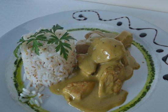 Restaurante Don Salvador: Pollo al curry