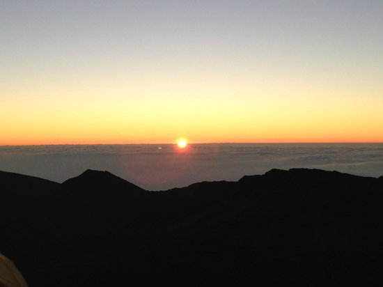 Maui Mountain Cruisers: To this - at sunrise...  Spectacular views!