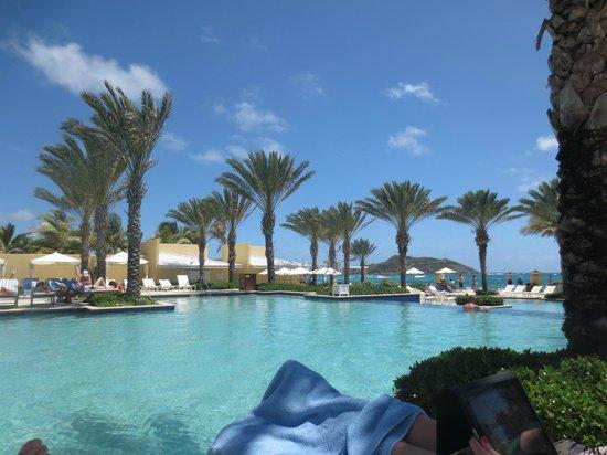 The Westin Dawn Beach Resort & Spa, St. Maarten: Pool/Beach View
