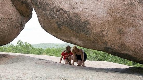 Elephant Rocks State Park: You can walk underneath and even in between the boulders