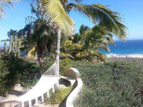Villa del Faro: Hamock or sandy beach, take your pick