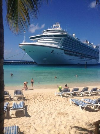 Ship docled at the terminal - Picture of Grand Turk Cruise ...