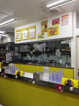 Go!Go!Curry Shinjuku Higashiguchi Chuodori: interior, very clean