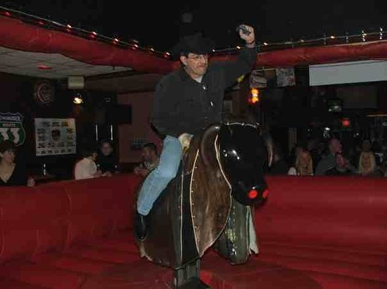 Colorado Cafe: riding the bull was great