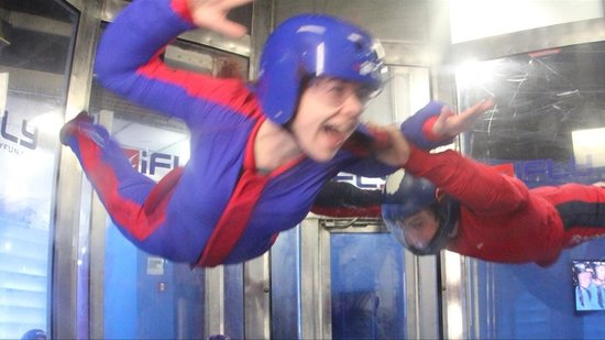 iFLY Indoor Skydiving - Orlando: First time flyer!