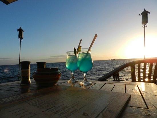 Scuba Lodge & Suites : Divers' desire, o drinque perfeito para o por-do-sol