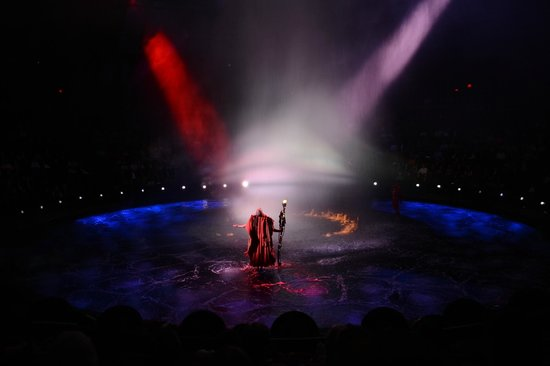 Le Reve - The Dream: flaming water