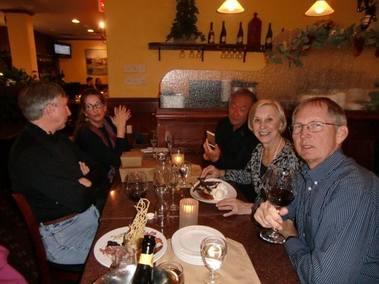 Bella Italia Ristorante: A birthday celebration at Bella Italia