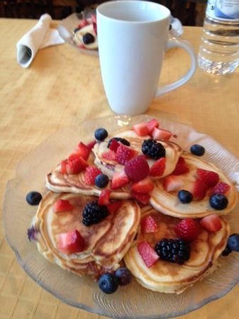 Evergreen Forest B&B : you will go to bed dreaming of what amazing breakfast awaits