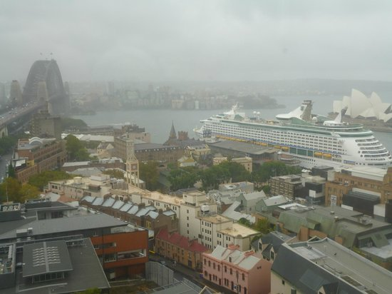 Shangri-La Hotel Sydney: great views