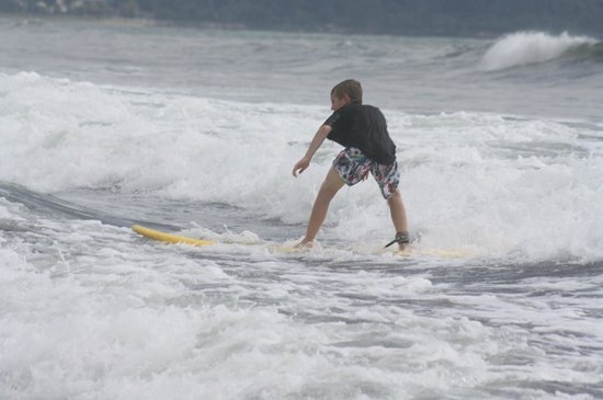 Manuel Antonio Surf School : 10 year old son
