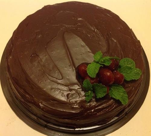 Dacha Restaurant : Birthday Cake