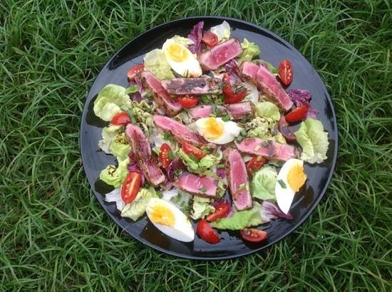 Dacha Restaurant : Fresh Tuna Salad