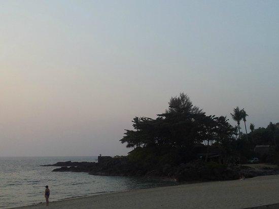 Lanta Il Mare Beach Resort : Vista des de la playa del hotel