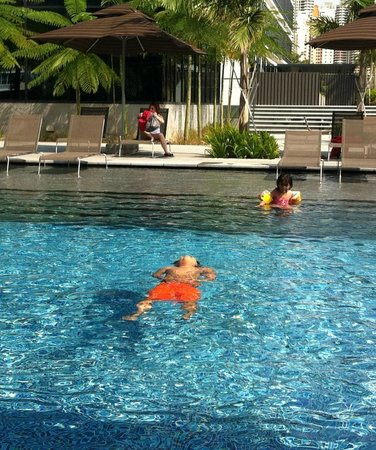 Ramada Singapore At Zhongshan Park: The swimming pool - big and suitable for kids