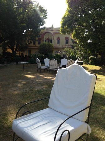 Rohet Garh : Favourite place to sit in the garden