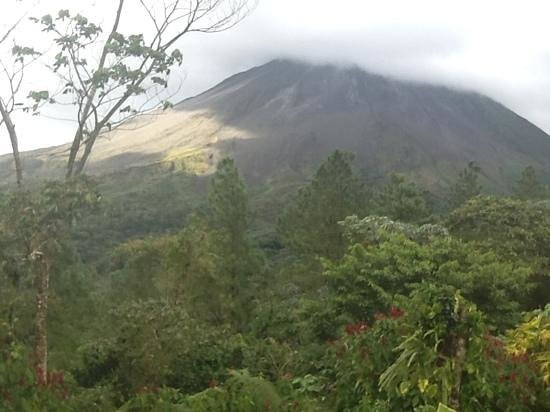 Arenal Observatory Lodge & Spa: view from our balcony
