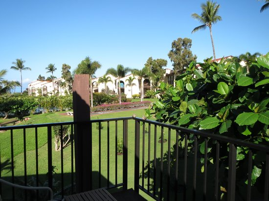 Aston Maui Hill : view from small balcony of 2 bedroom