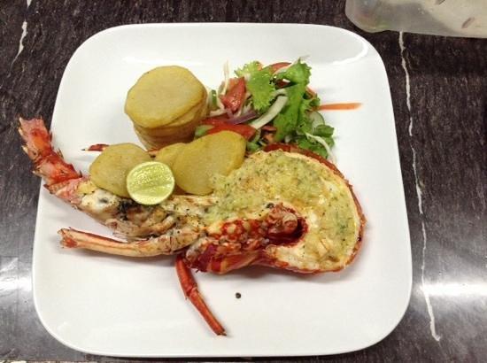 Big Citi Grill: Grilled Lobster