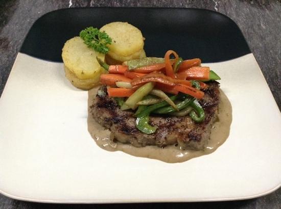 Big Citi Grill: Steak au poivre