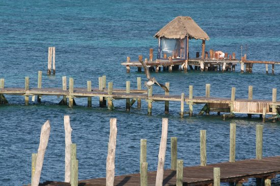 Hotel La Joya: View from the dock at La Joya