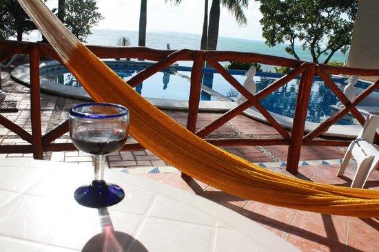 Hotel La Joya: View from the room