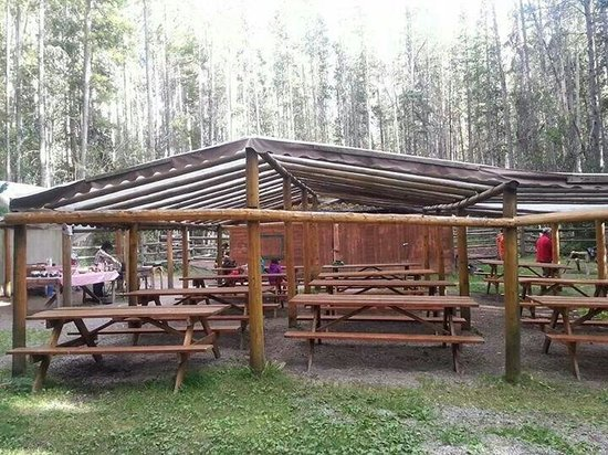 Banff Trail Riders: Supper area