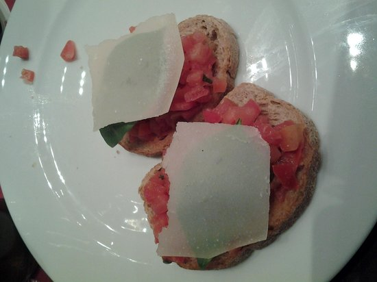 scoozi: bruschetta