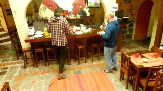 Pisko & Soul: Bar counter