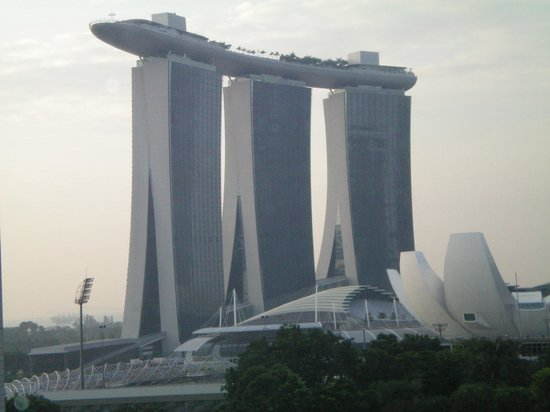 Pan Pacific Singapore : View from hotel room